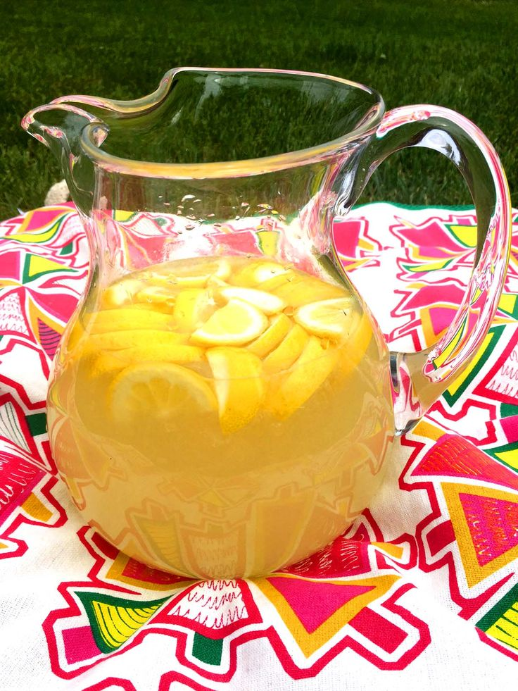 This amazing homemade lemonade is the best one you'll ever taste!  Made with freshly squeezed lemon juice and floating lemon slices, it's the most refreshing lemonade recipe ever! Nothing quenches your thirst more on a hot summer day than a nice tall glass of fresh lemonade.  Especially if this lemonade is made with freshly squeezed lemons!  Once you try this amazing homemade lemonade recipe, you'll never want to drink store-bought lemonade ever again!  Bottled lemonade is like a ...