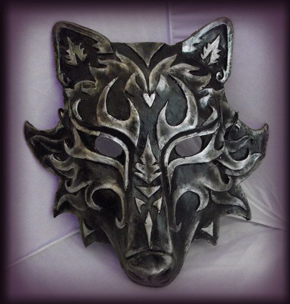 Wolf Mask Any Color by RobinRed on Etsy, $80.00