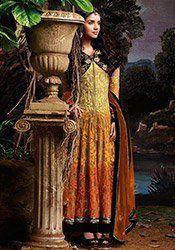 Asin Multicolored Anarkali Suit