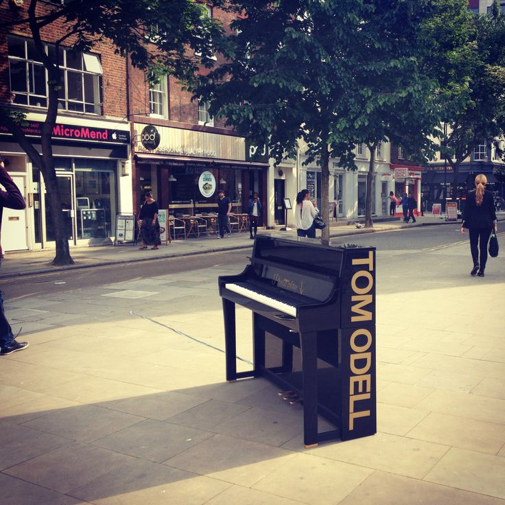 Tom Odell's lost piano campaign