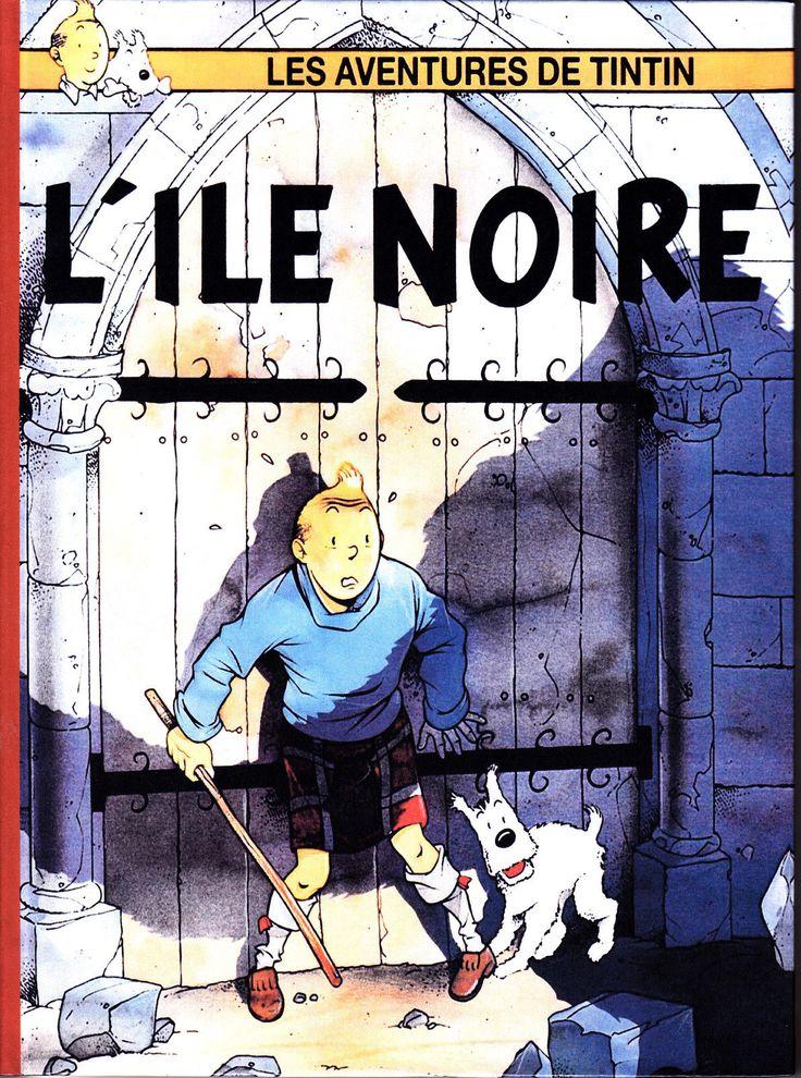 Les Aventures de Tintin - Album Imaginaire - L'Île Noire