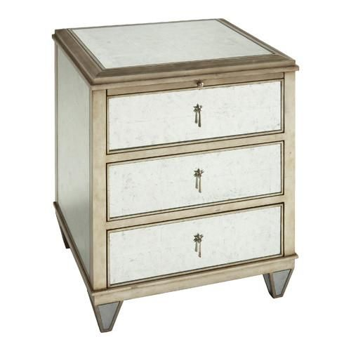 jolie bedside mirrored
