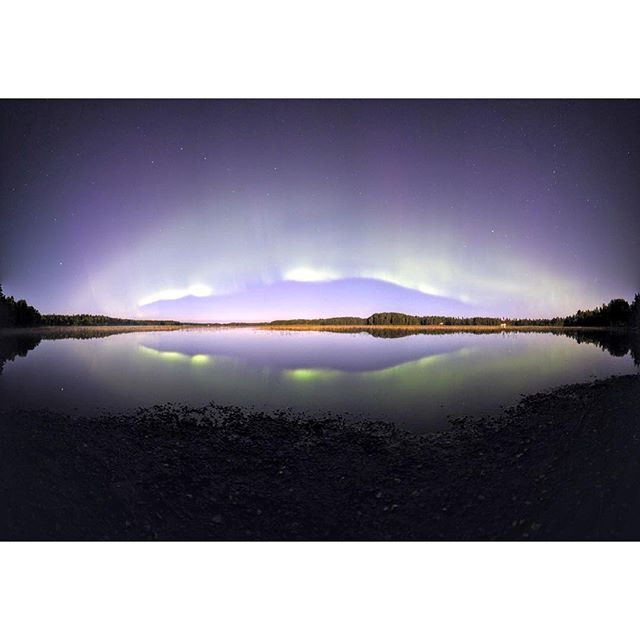 Reposia #stars #night #northernlights
