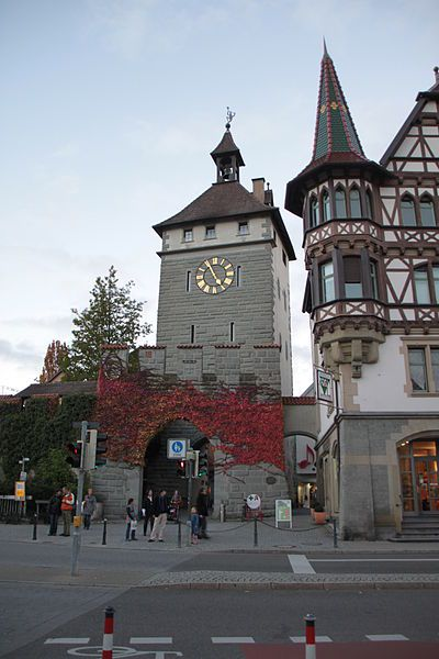 Konstanz, Germany [shown: Schnetztor with part of old city-wall]