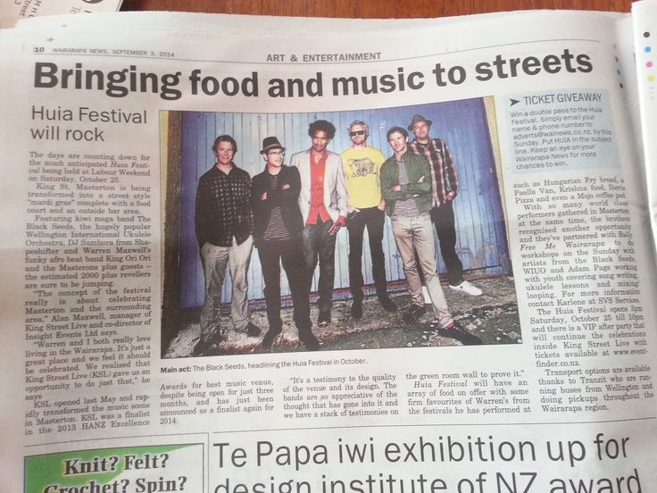"""The King Street Live team in Masterton setting up the October 2014 event """"Huia"""" - a street festival for the Wairarapa. www.kingstreetlive.co.nz"""