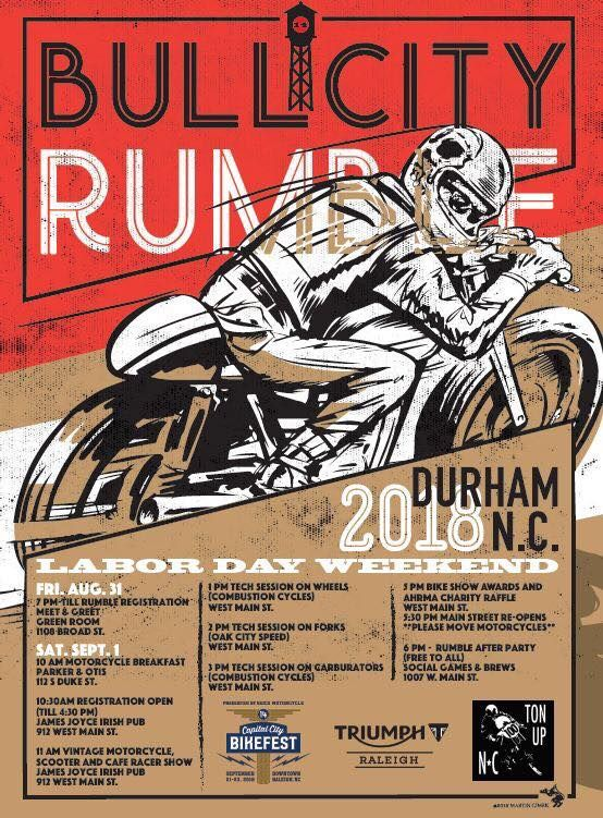 Bull City Rumble Is Returning To Downtown Durham This Vintage