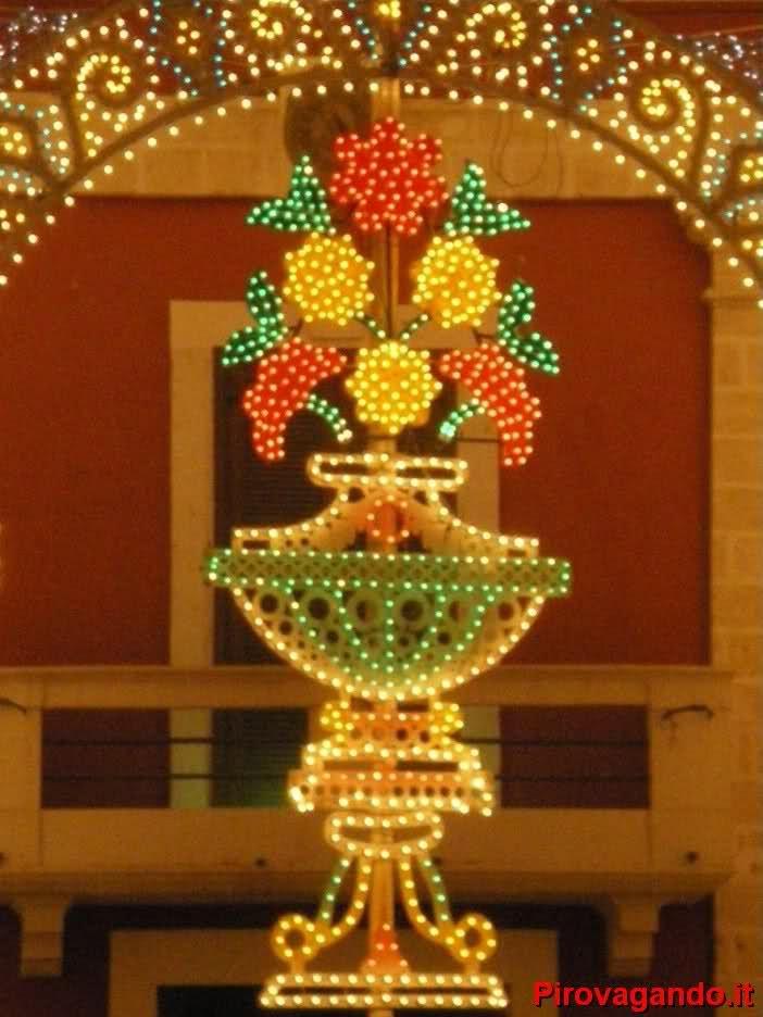 Illuminazioni feste tradizionali          Puglia