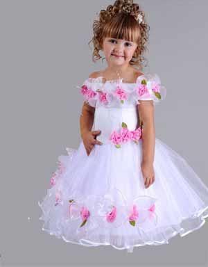 Шитье детям новогоднее платье принцессы