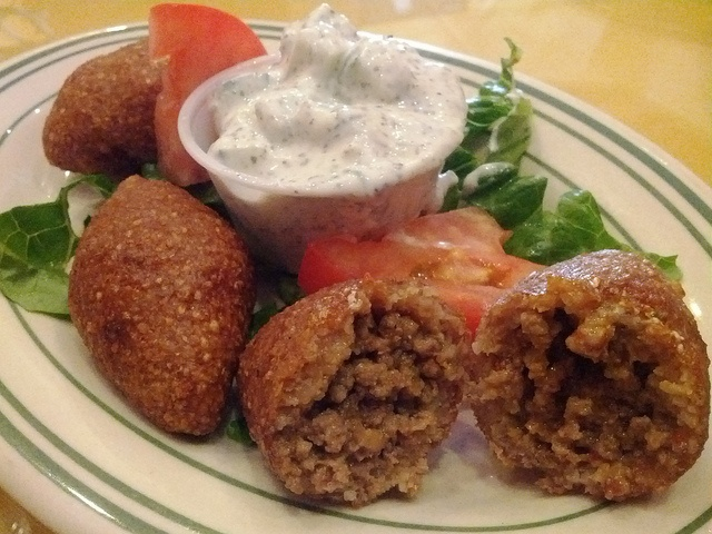 Armenian stuffed kufta turkish recipes pinterest for Fish dish burbank