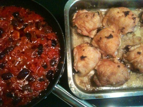 Chicken Cacciatore - Extra GARLIC!! Get the App here: https://itunes.apple.com/us/app/cookingpot/id586052832?ls=1=8