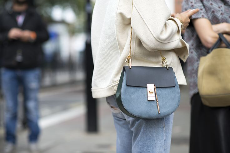 chloe drew bag blue inspiration post