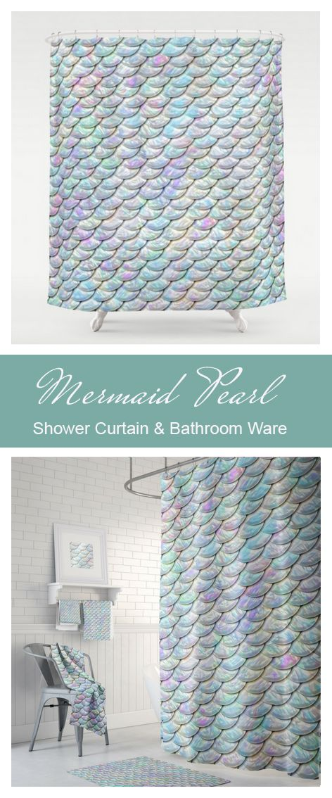 Beautiful Pearl Iridescent Shower Curtain And Matching Bathroom Ware Towels Bath Mats Available At Plush Home Accents