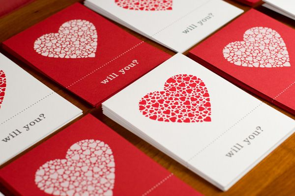 Valentine's day promo cards by Brian Swarthout