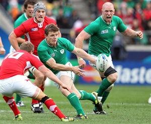 Centre Brian O'Driscoll returns to lead Ireland in their first Test against World Cup winners New Zealand at Eden Park.