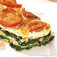 20 februari - tomaten in de bonus - Recept - Lasagne met ricotta, spinazie en gerookte zalm - Allerhande