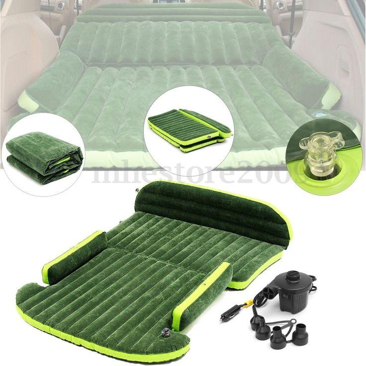 Внедорожник машина подушка продлить надувной матрас для путешествий воздуха кровать заднее сиденье кемпинг | Дом и сад, Мебель, Кровати и матрасы | eBay!