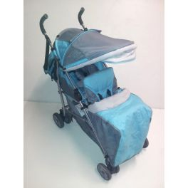 Poussette double canne - bambisol - 100€