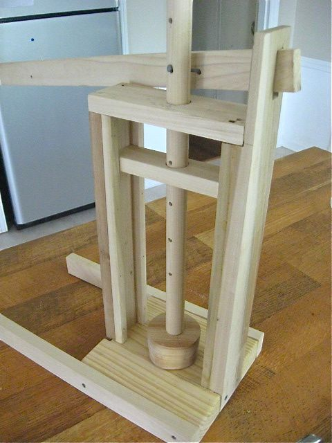 """Cheese press for making """"hard"""" cheese...want to try this"""