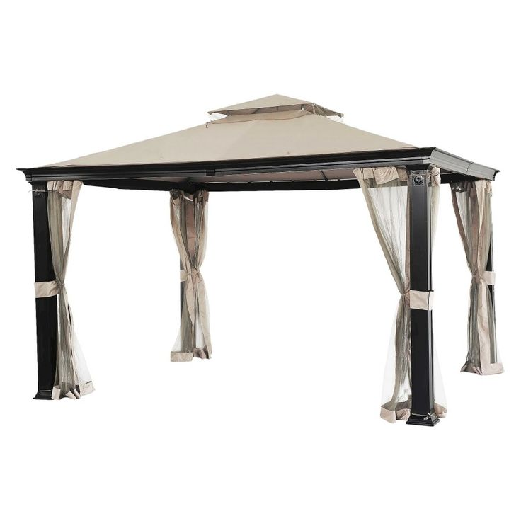 Tivering Replacement Gazebo Canopy - Cream - Threshold