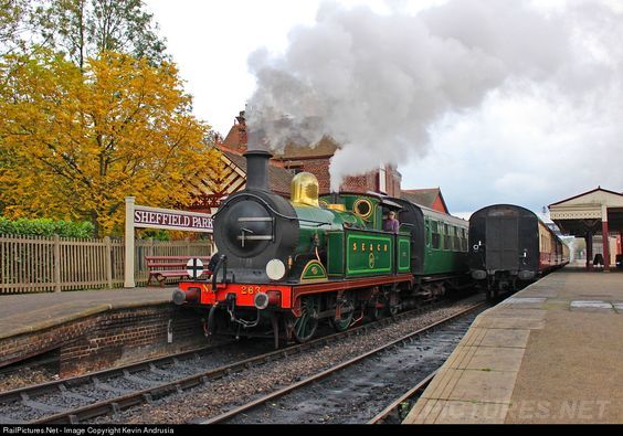 RailPictures.Net Photo: SECR 263 South Eastern & Chatham Railway Steam 0-4-4 at Sheffield Park, East Sussex, United Kingdom by Kevin Andrusia