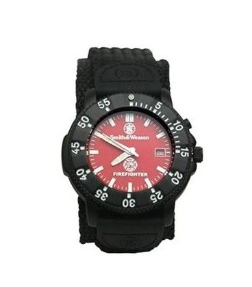 Smith & Wesson Fire Fighter Watch **Hero Provisions: off duty apparel, gear & gifts for Police, Fire, EMS, Military & Private Security**