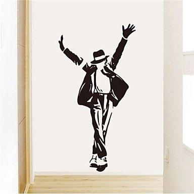 Fashion PVC Forever Michael Jackson Wall Stickers - EUR € 9.69