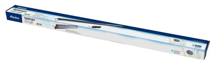 "Aqueon Optibright LED Aquarium Light Fixture 48-54"""