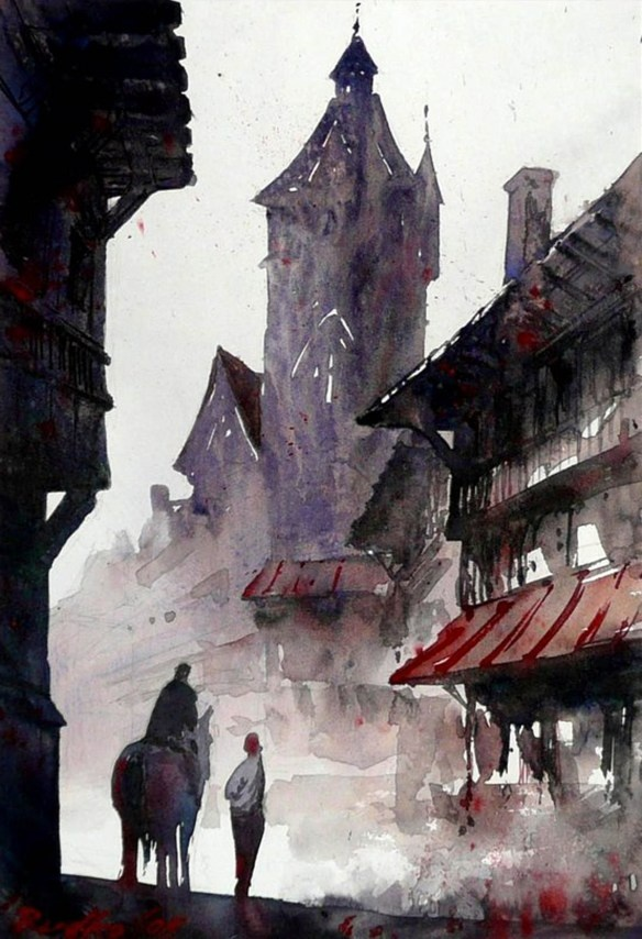 39 best watercolor + ink images on Pinterest