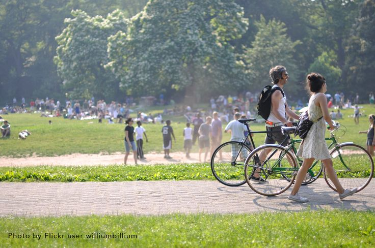 """Brooklyn's Prospect Park, designed by Frederick Olmstead, is home to the """"picnicker's mile""""—one of the longest city park meadows nationwide."""
