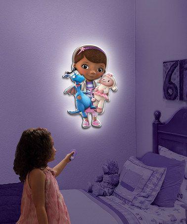 loving this doc mcstuffins wall friends talking light on zulily zulilyfinds