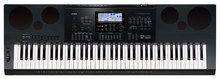 Casio - Portable Workstation Keyboard with 76 Piano-Style Touch-Sensitive Keys - Black, CAS WK7600