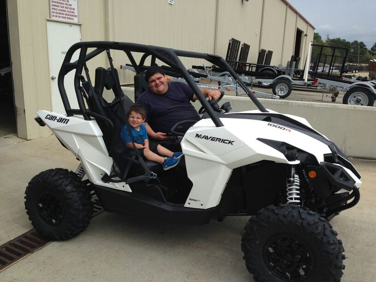 Thanks to Boston and Bronson Tubby from Philadelphia MS for getting a 2015 CanAm Maverick 1000 at Hattiesburg Cycles