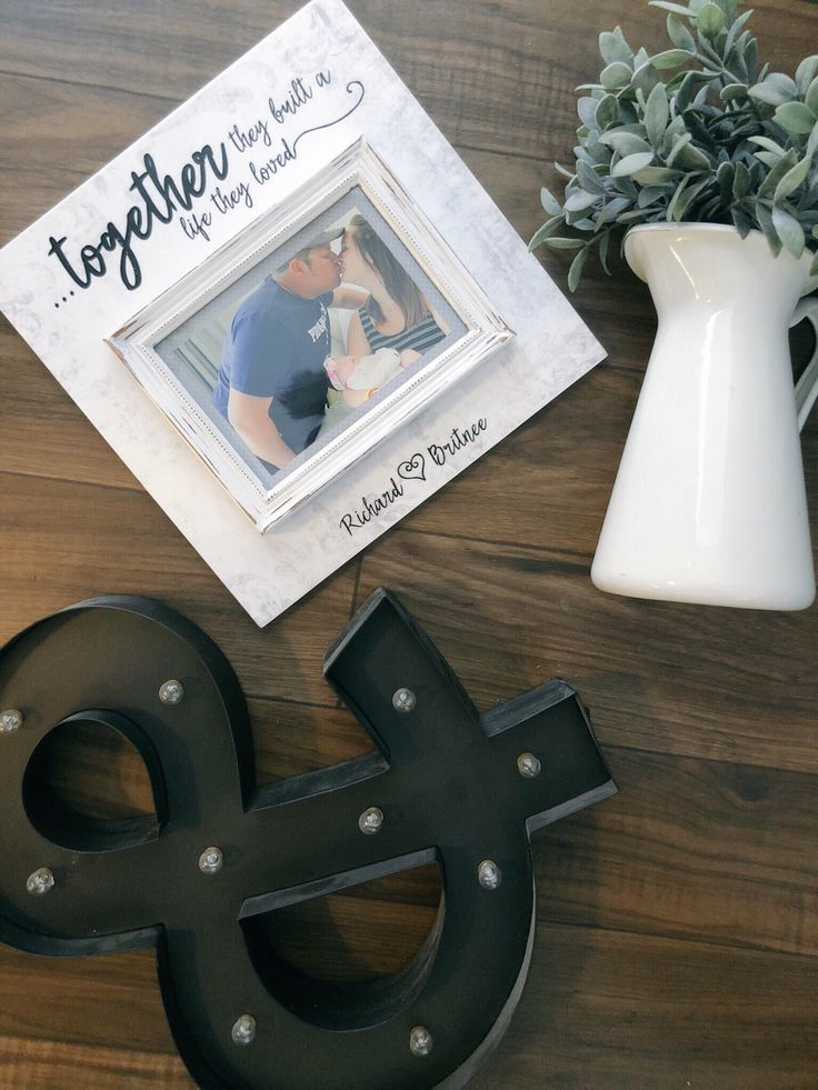 Happily Ever After Words Custom Personalized Frames - Farmhouse - MAMASCOLDCOFFEE.ORG