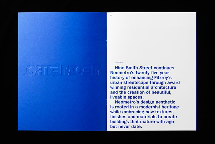 Logotype and print designed by Studio Hi Ho for Neometro and their property development Nine Smith Street