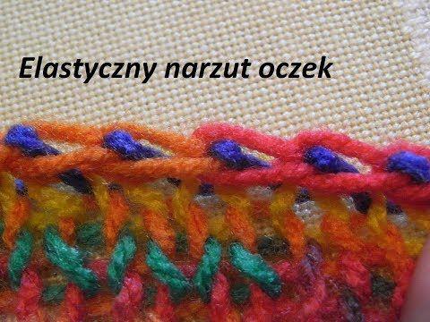 Elastyczny narzut oczek*Dziergać*Wzory  na drutach* - YouTube