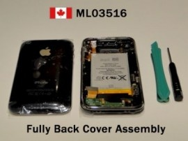 """iPhone 3G Black Back Cover/Housing Fully Assembly 16GB    """" FREE SHIPPING TO US AND CANADA """"    100% Original iPhone 3G Parts    Price : $69.35"""