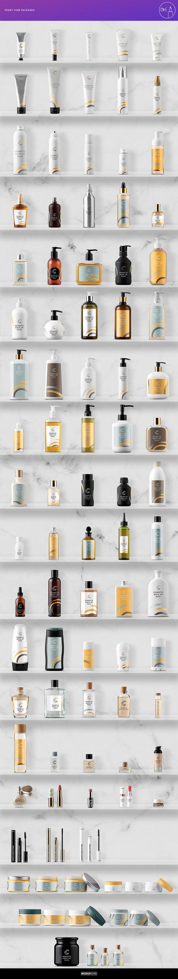 Cosmetic Packaging Branding MockUp ~ Product Mockups on Creative Market