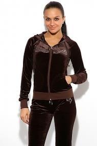 Спортивный велюровый костюм для девочек