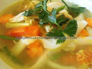 Resep Sup Jamur Tiram - Resep Masakan Indonesia
