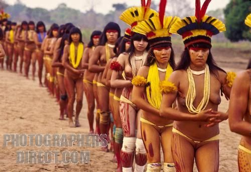 Amazon Kamayura Tribe Xingu River by ruttohpollyzzarrioh2004, via Flickr