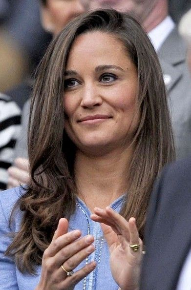 Pippa Middleton Watches the Wimbledon Matches