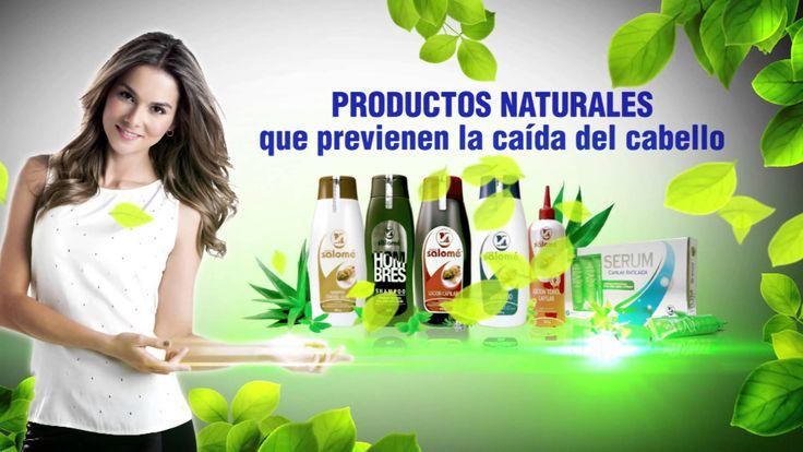 Productos María Salomé con base en extractos naturales