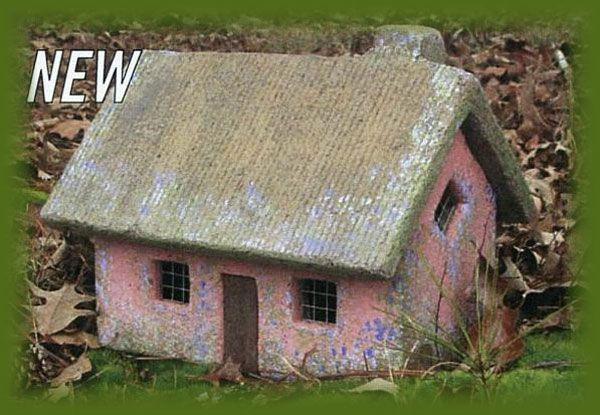 Hypertufa Garden Art Fairy Cottage Fairy Cottage Sweet