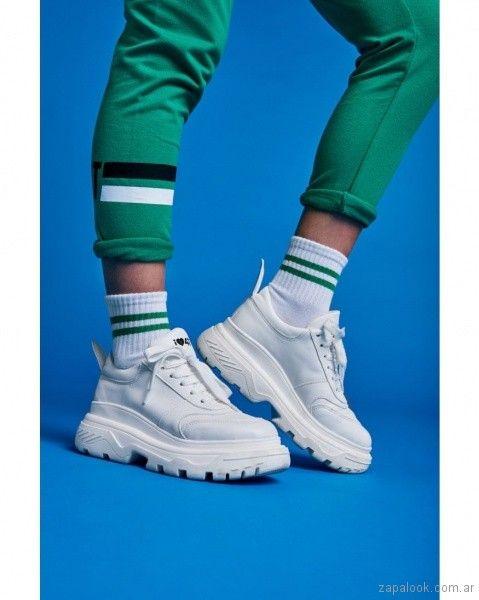 low priced e5d9c 7bc55 47 Street, marca de ropa para adolescentes lanzo su linea de calzados  primavera verano 2019. Dentro de su coleccion encontraras zapatillas, una  propuesta ...