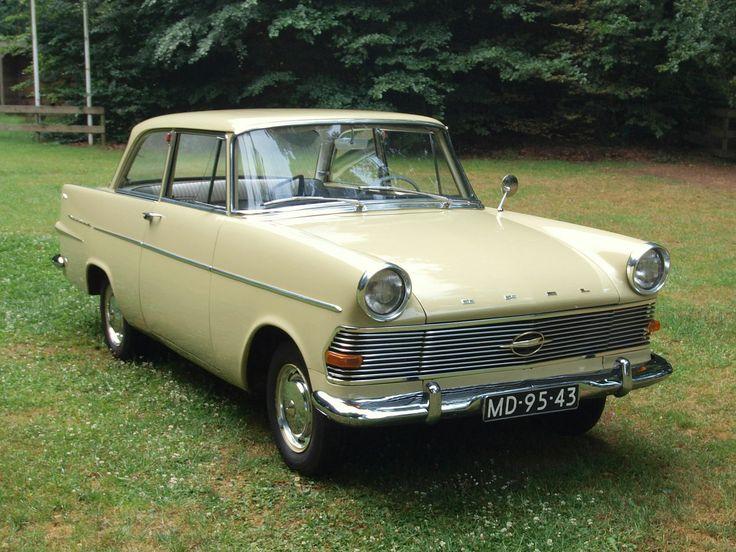 1962 - Opel Rekord P2 - front side