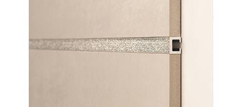 Brau metalic pentru faianta Silver Glitter