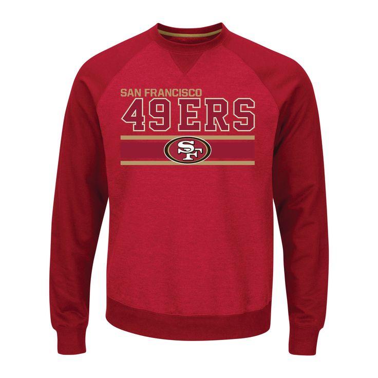 San Francisco 49ers Men's Activewear Sweatshirt XL, Multicolored