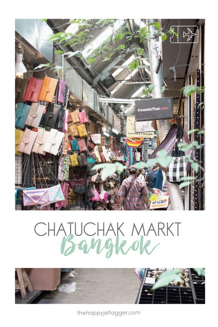 Der größte Markt in Thailand und einer der größten Märkte in Asien: Der Chatuchak Markt. Tipps und Öffnungszeiten fürs Shopping auf dem Chatuchak Weekend Market. Reise Tipps für Bangkok und Thailand auf thehappyjetlagger.com