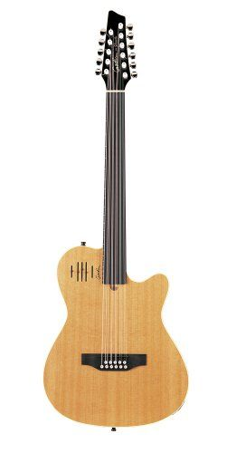 Godin A11 Glissentar Two-Chambered Electro-Acoustic Guitar (Natural, Fretless) *** For more information, visit image link.