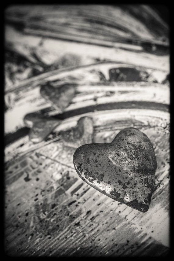 ValentinesSilver heart on a Harley by SwankyPhotographic on Etsy